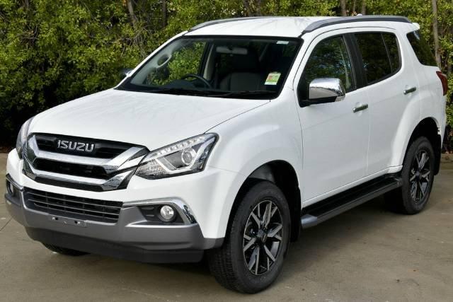 2019 Isuzu MU-X LS-T MY19 4X4 Dual Range SILKY WHITE PEARL