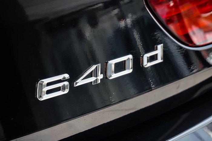2018 BMW 6 Series 640d F06 LCI Black
