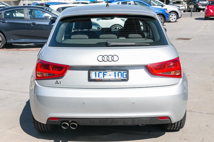 2013 Audi A1 Attraction 8X MY13 Silver