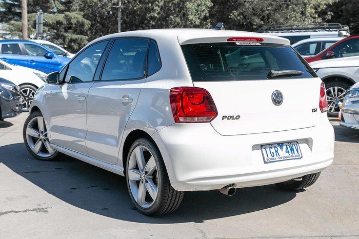 2012 Volkswagen Polo 77TSI Comfortline 6R MY12.5 White