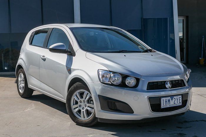 2016 Holden Barina CD TM MY16 Silver