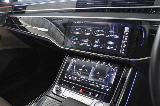 2018 Audi A8 55 TFSI D5 MY18 Four Wheel Drive Moonlight Blue metallic