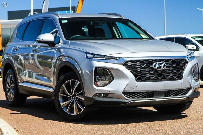 2020 Hyundai Santa Fe Elite TM.2 MY20 4X4 On Demand Silver