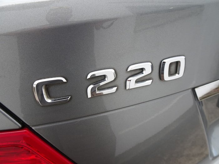 2008 Mercedes-Benz C-Class C220 CDI Avantgarde W204 Silver