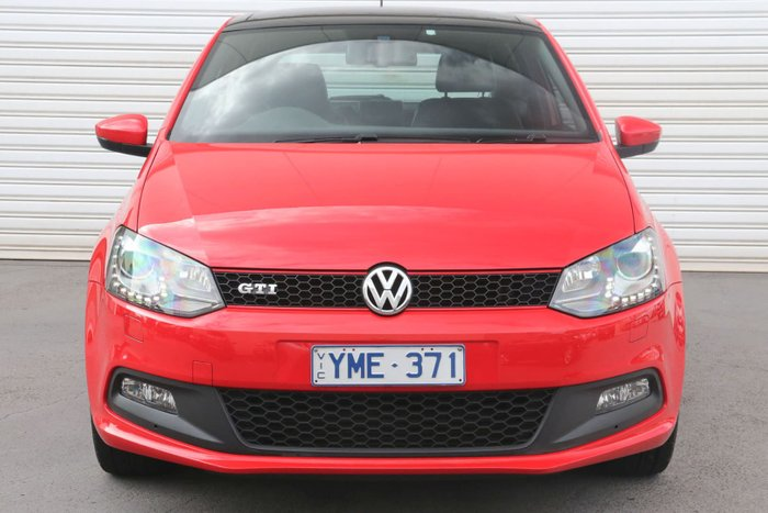 2011 Volkswagen Polo GTI 6R MY11 Red