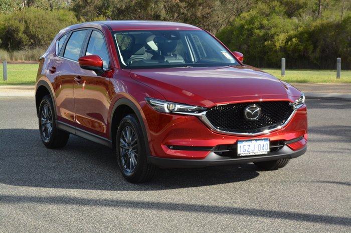 2020 Mazda CX-5 Touring KF Series 4X4 On Demand Red