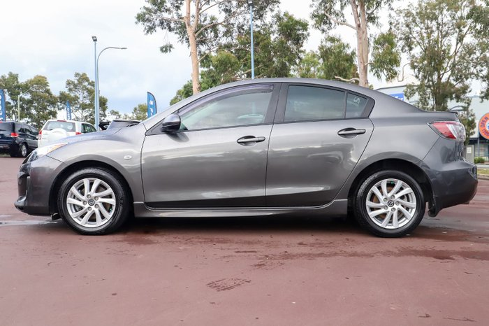 2013 Mazda 3 MZR-CD BL Series 2 MY13 Grey