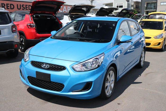 2019 Hyundai Accent Sport RB6 MY19 Blue Lagoon