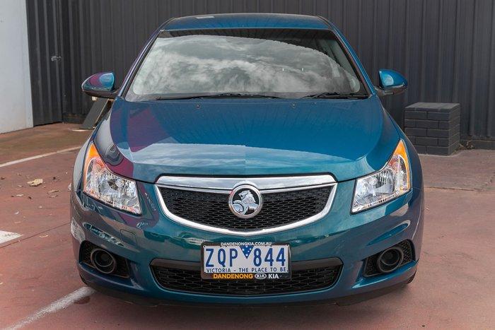 2012 Holden Cruze CD JH Series II MY13 Green