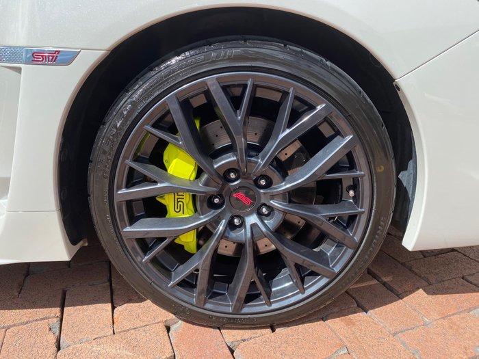 2017 Subaru WRX STI Premium V1 MY18 Four Wheel Drive White