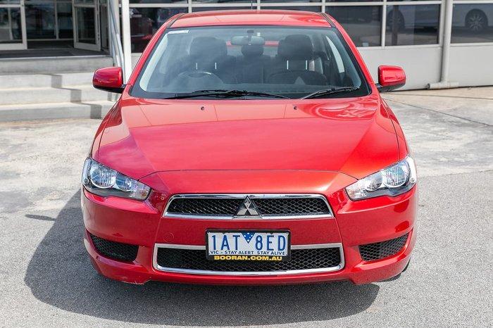 2013 Mitsubishi Lancer LX CJ MY14 Red