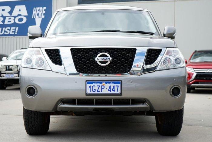 2013 Nissan Patrol ST-L Y62 4X4 Dual Range Grey
