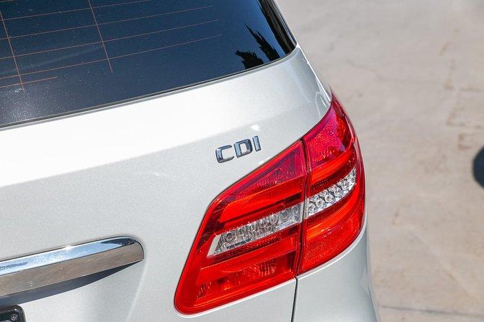 2014 Mercedes-Benz B-Class B200 CDI W246 Silver