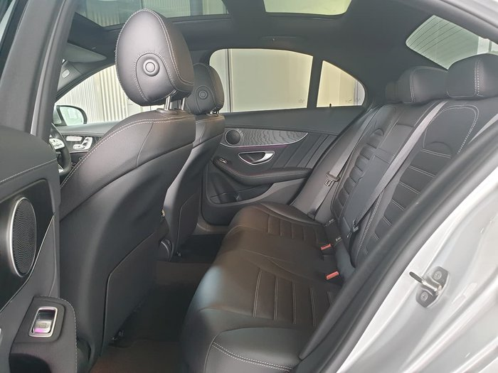 2019 Mercedes-Benz C-Class C300 W205 Silver