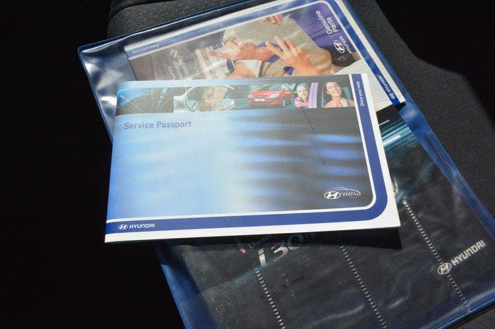 2010 Hyundai i30 SX FD MY10 Blue