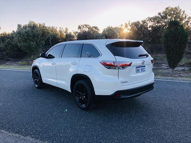 2015 Toyota Kluger GX GSU50R WHITE