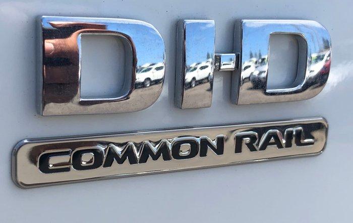 2019 Mitsubishi Triton GLX+ MR MY19 4X4 Dual Range White