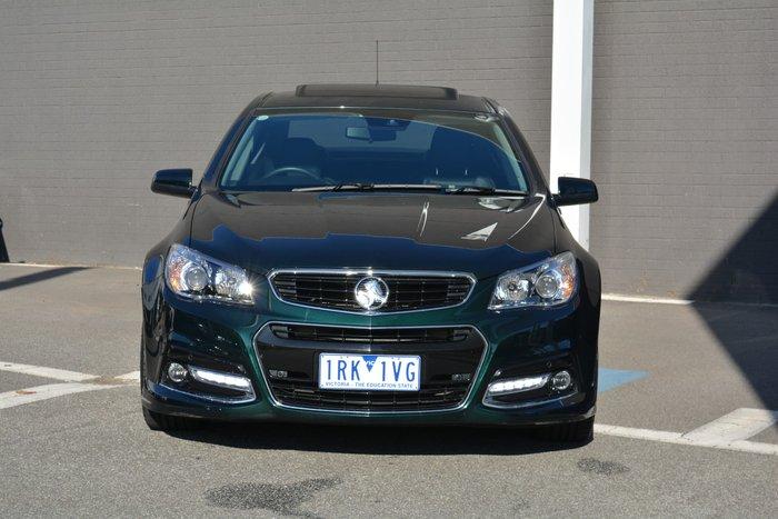 2014 Holden Commodore SS V Redline VF MY14 Green