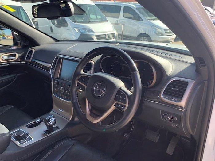 2015 Jeep Grand Cherokee Overland WK MY15 4X4 Dual Range White