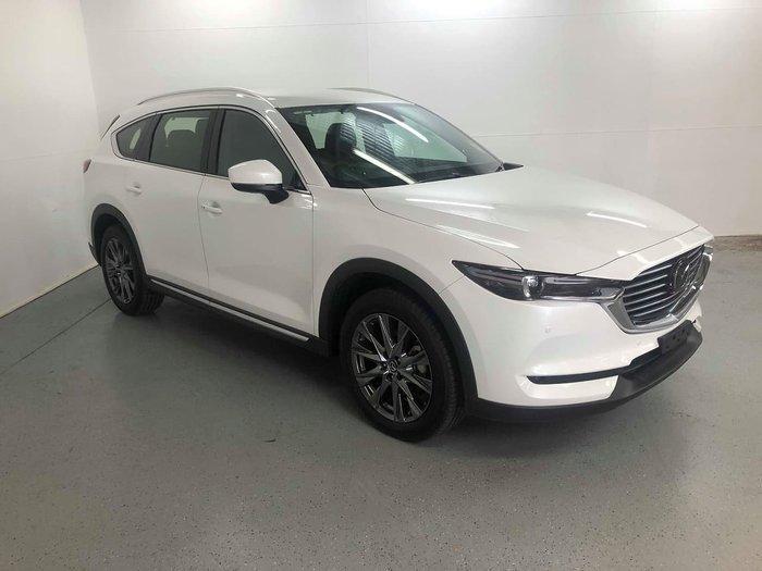 2019 Mazda CX-8 Asaki KG Series 4X4 On Demand White
