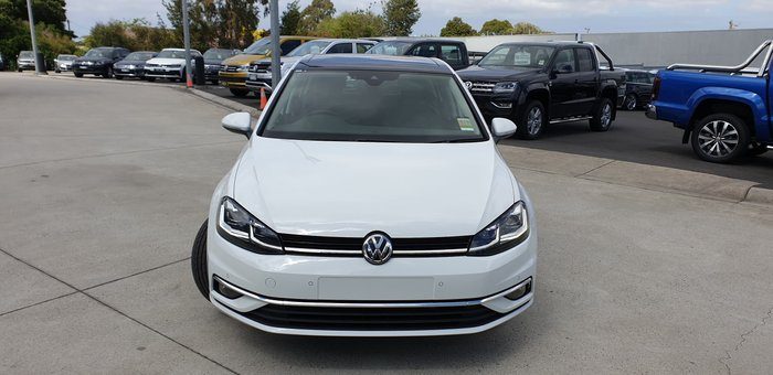 2019 Volkswagen Golf 110TSI Highline 7.5 MY20 White