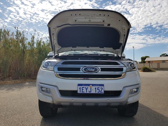 2015 Ford Everest Trend UA 4X4 Dual Range WHITE