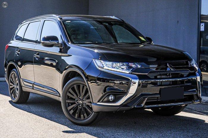 2019 Mitsubishi Outlander Black Edition ZL MY20 Black