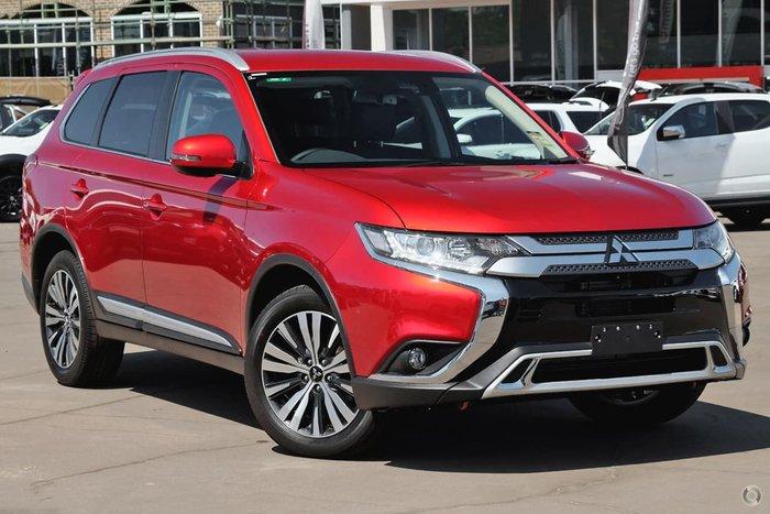 2019 Mitsubishi Outlander LS ZL MY20 Red