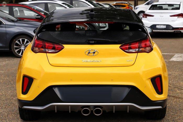 2020 Hyundai Veloster Turbo Premium JS MY20 Yellow