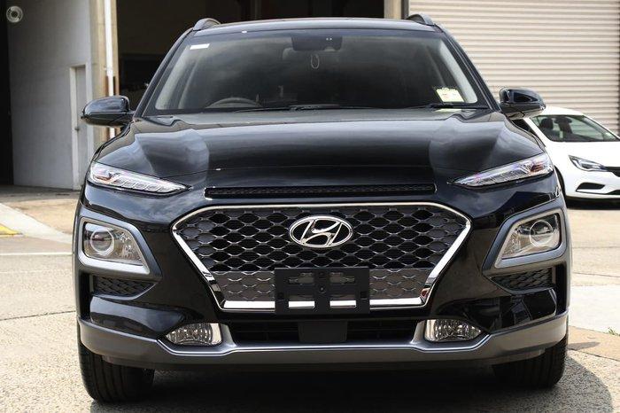 2020 Hyundai Kona Elite OS.3 MY20 Black
