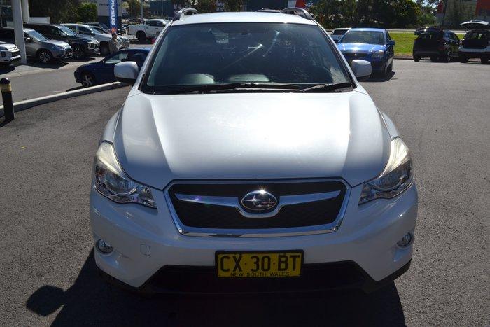 2013 Subaru XV 2.0i G4X MY13 Four Wheel Drive White