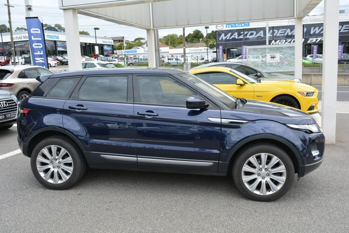 2015 Land Rover Range Rover Evoque TD4 Pure Tech L538 MY15 4X4 Constant Blue