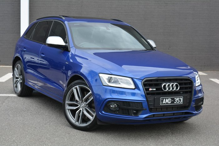 2016 Audi SQ5 TDI 8R MY17 Four Wheel Drive Blue