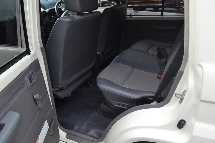2016 Toyota Landcruiser Workmate VDJ76R 4X4 Dual Range White