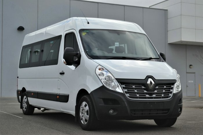 2019 Renault Master MID ROOF LONG WHEELB X62 MINERAL WHITE