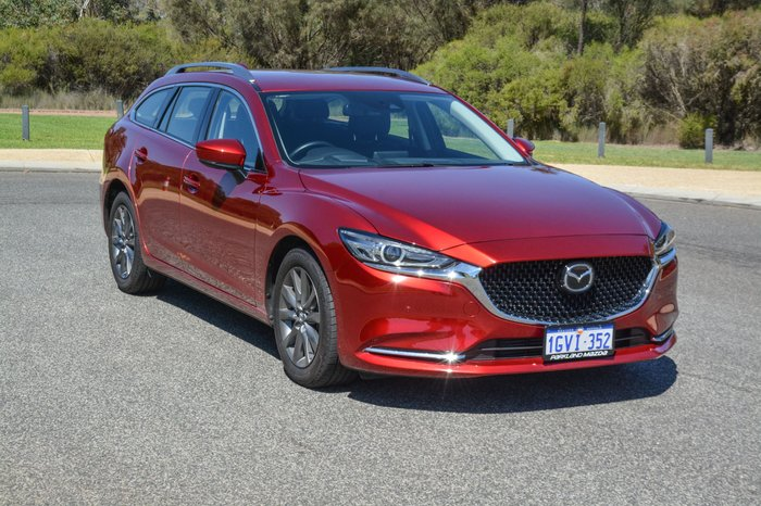 2018 Mazda 6 Touring GL Series Red