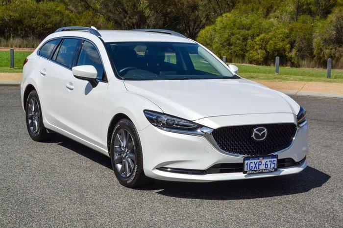 2019 Mazda 6 Sport GL Series White