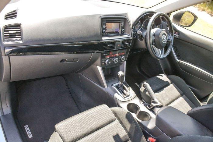 2014 Mazda CX-5 Maxx Sport KE Series MY14 4X4 On Demand White