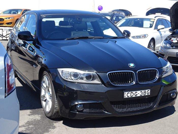 2010 BMW 3 Series 320i Lifestyle E90 MY10.5 Black