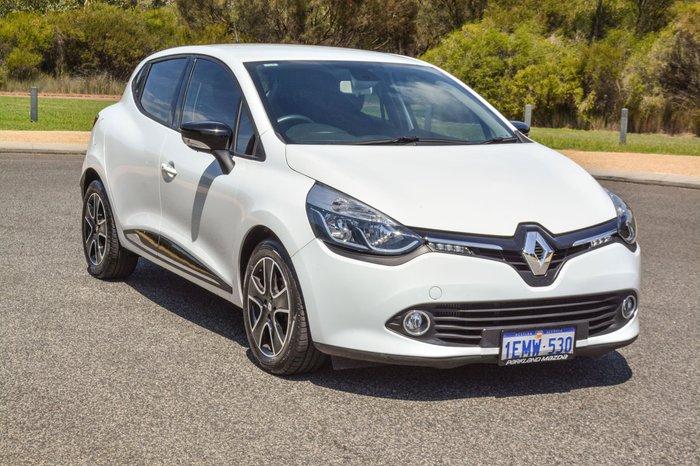 2014 Renault Clio Expression IV B98 White