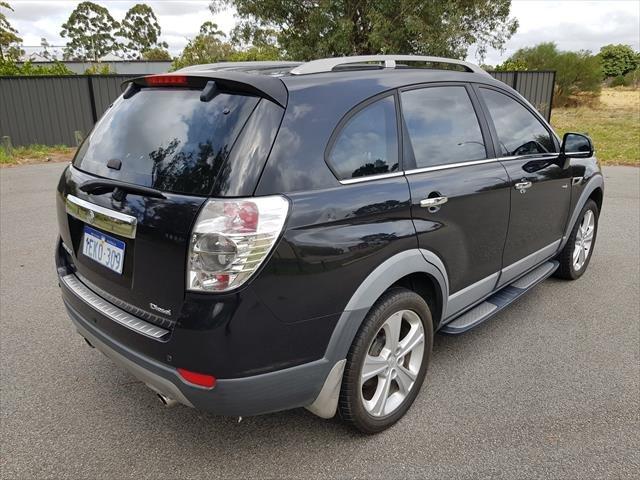2013 Holden Captiva 7 LX CG MY13 4X4 On Demand Black