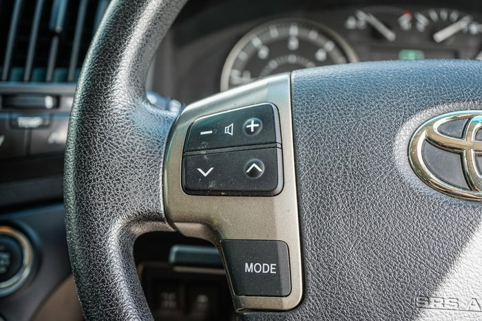 2008 Toyota Landcruiser GXL VDJ200R 4X4 Constant Grey