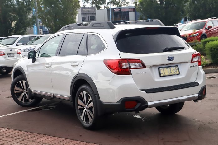 2019 Subaru Outback 3.6R 5GEN MY19 Four Wheel Drive White