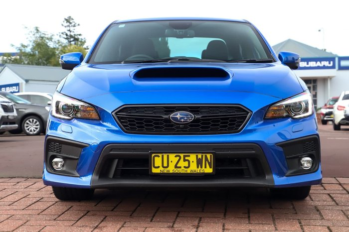 2019 Subaru WRX Premium V1 MY19 Four Wheel Drive Blue