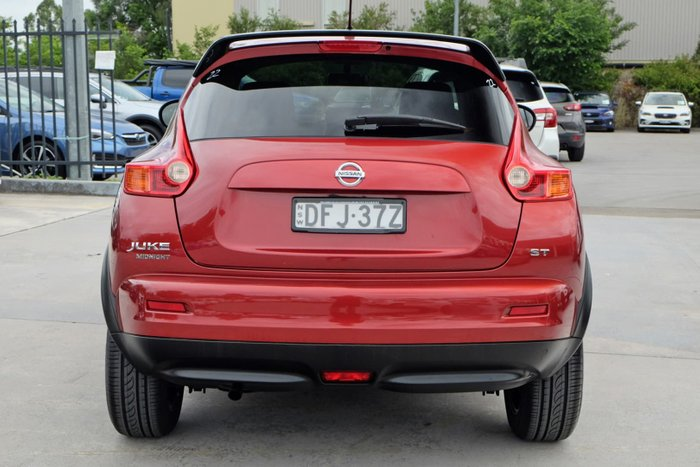 2014 Nissan JUKE ST F15 MY14 Red