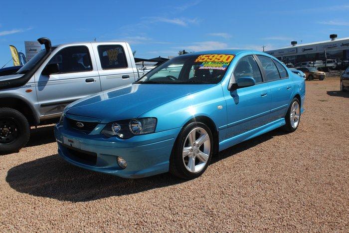 2004 Ford Falcon XR6 BA Mk II Blue