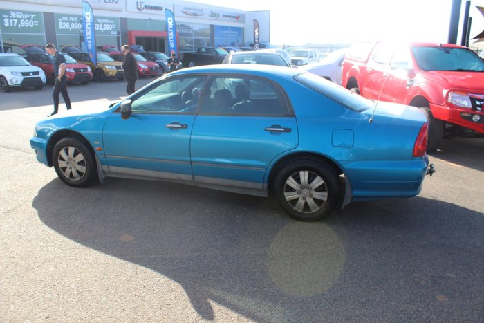 2001 Mitsubishi Magna Executive TJ Blue