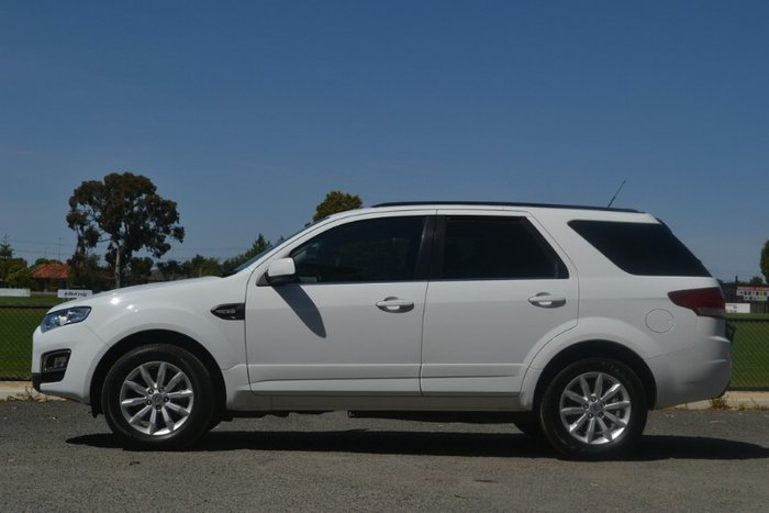 2015 Ford Territory TX SZ MkII WINTER WHITE