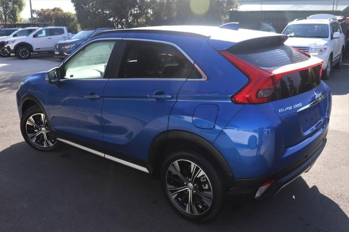 2019 Mitsubishi Eclipse Cross Exceed YA MY19 Blue