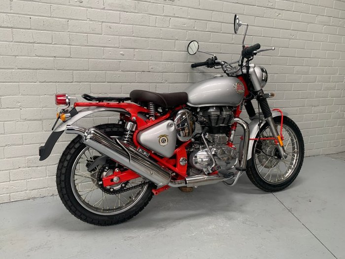 2019 Royal Enfield BULLET 500 ABS Red